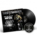 SNIDER, DEE - FOR THE LOVE OF METAL -LIVE-2LP+DVD