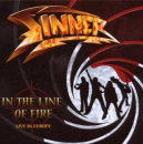 SINNER - IN THE LINE OF FIRE -RE-